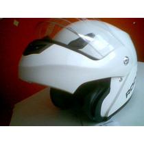 Casco Moto Abatible / Modular Blanco Nuevo Talla Xl Nuevo