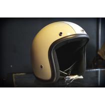 Casco Bobber Jet Marca Atop-head Modelo Cowboy Shape