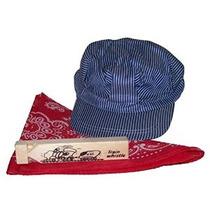 Pequeño Ingeniero Sombrero Del Pañuelo & Whistle Set