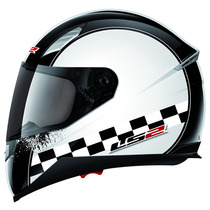 Casco Ls2 Moto Ff384 Speed Mica Interna Sunvisor Talla X L