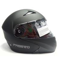 Casco Faseed Fs-901 Abatible Solido Negro Mate Talla L