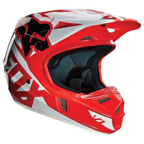Casco Fox V1 Race Rojo 2016 Motocross Atv Talla Xl