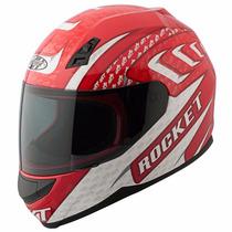 Casco De Motociclista Joe Rocket Rkt700 Azul Rojo Moto