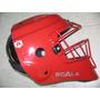 Casco Tipo Hockey Rojo Catcher Arreos Scala