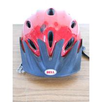 Casco Para Andar En Bicicleta Bell Ciclismo Patineta 52-54cm
