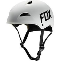 Casco Fox Flight Hardshell Blanco Mate Talla M Bici Mtb