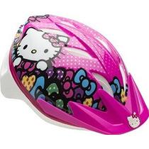 Campana Niñas Hello Kitty Cruisin Gatito Casco De La Bici