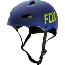 Casco Fox Flight Hardshell Azul Mate Talla L Bici Mtb