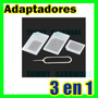 Kit De Adaptadores Nano Y Micro A Sim + Aguja Iphone 5