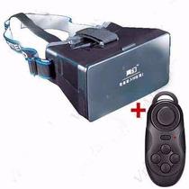 Lentes 3d Realidad Virtual Control Bluetooth, Smartphone Ios