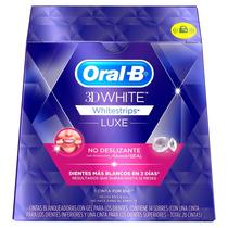 Nuevas Tiras Blanqueadoras Oral-b 3d White Whitestrips Luxe