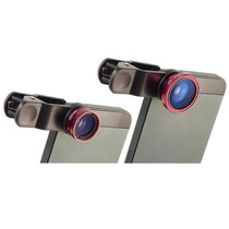 Lente Universal Clip Fisheye Macro Wide + Regalo Kit Complet