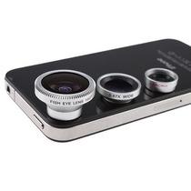 Lente Wide Angle Macro Fisheye Iphone 5 Ipad Galaxy S3