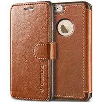 Además Caso Del Iphone 6s, Verus [capas Dandy] [brown] - [ra
