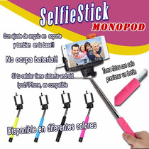 Bastón Extendible Para Fotos Selfie Stick Monopod