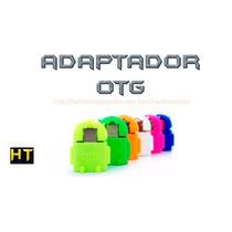 Adaptador Microusb - Otg Android Celular / Lote 10 Pzas $180
