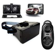 Lentes 3d Realidad Virtual Cardboard Google + Control Ios