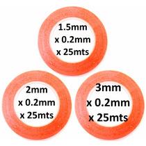 Juego De 3 Cintas Adhesivas Doble Cara 1.5mm 2mm 3mm X 25mts