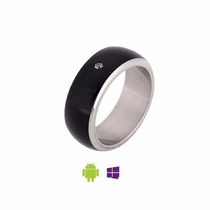 Anillo Inteligente Nfc Smart Ring Proteccion Seguridad Moda