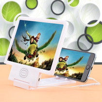 Pantalla Ampliadora O Lupa Plegable 3d Para Telefono Celular