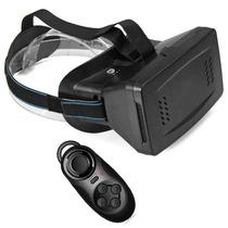 Lentes De Realidad Virtual Cardboard Google 3d + Control