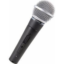 Microfono: Shure Sm58s Vocal De Encendido / Apagado Del Micr