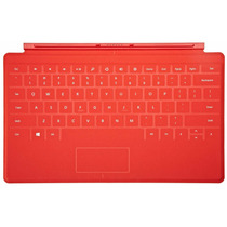 Touch Cobertura Roja Para Microsoft Surface