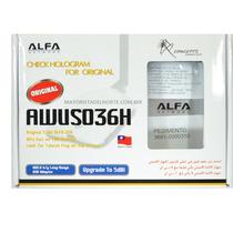 Adaptador Usb Wi-fi Largo Alcance Alfa Awus036h 2000mw Nuevo