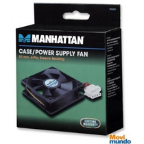 Ventilador Manhattan 80x80x25 4 Pin Sleeve Bearing +b+