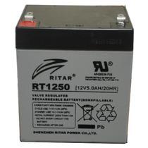 Bateria Ritar 12v/5a, Recargable, Juguetes, No-breaks, 1 Año