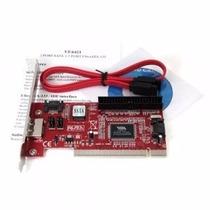 Esata / Sata / Ide Pci Raid Controller Card Via Vt6421a Chip