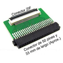 Adaptador Para Disco Duro Zif / Lif A Interface Ide De 1.8