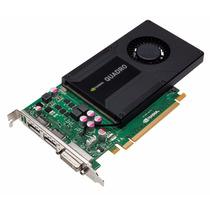 Tarjeta Nvidia Quadro K2000 2gb Gddr5 Gráficos