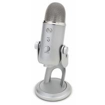 Microfono Blue Microphones Yeti Micrófono Usb - Plata