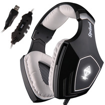 Sades Wired Surround Sound Pc Usb Gaming Headset Stereo Sobr