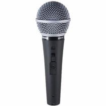 Microfono: Shure Sm48s-lc - Micrófono Con Interruptor On / O