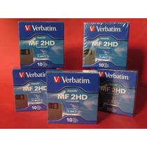 5 Cajas De Disquettes O Diskettes Flopt 3.5