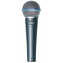 Microfono: Shure Beta 58a Supercardioide Micrófono Vocal Y C