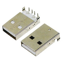 2 Conectores Para Soldar A Pcb Usb 2.0 Tipo A Macho