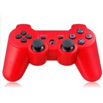 Control Generico Inalambrico Rojo Ps3 Garantizados