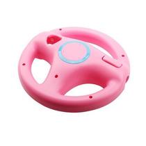 Volante Generico Para Wii Wheel En Color Rosa. Nuevo!!