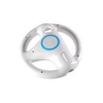 Volante Generico Para Wii Wheel En Color Blanco. Nuevo!!