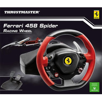 Volante Ferrari 458 Spider Racing Wheel Xbox One Atomgames!
