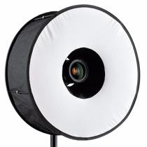 Anillo Difusor Para Retratos Foto Roundflash 45cm Luz Suave