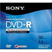 Mini Dvd-r- Sony Handycam 30 Minutos