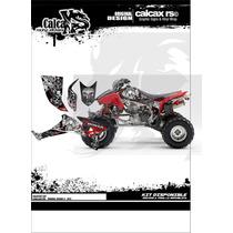 Kit De Calcas Personalizadas Honda Trx 400/ 450 Skull