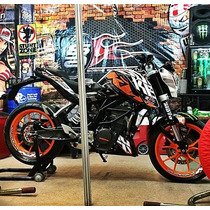 Ktm Duke 200 Sticker Pack , Somos Los Originales