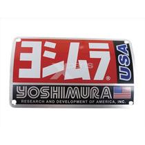 Emblema Escape Yoshimura Exhaust Trc Trs