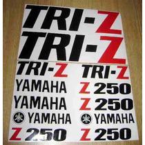 Jgo De Stickers Calcomanias Para Moto Yamaha Tri-z