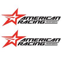 Sticker - Calcomania - Vinil - Logo American Racing